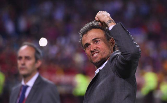 Novi, stari selektor Španije Luis Enrique se je opomogel po tragični izgubi hčerke Xane in bo na euro vodil Španijo. FOTO: AFP