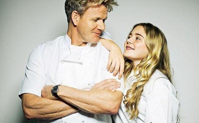 Oče in hči - iz šova <em>Matilda in Ramsayjeva družina</em> Foto Press