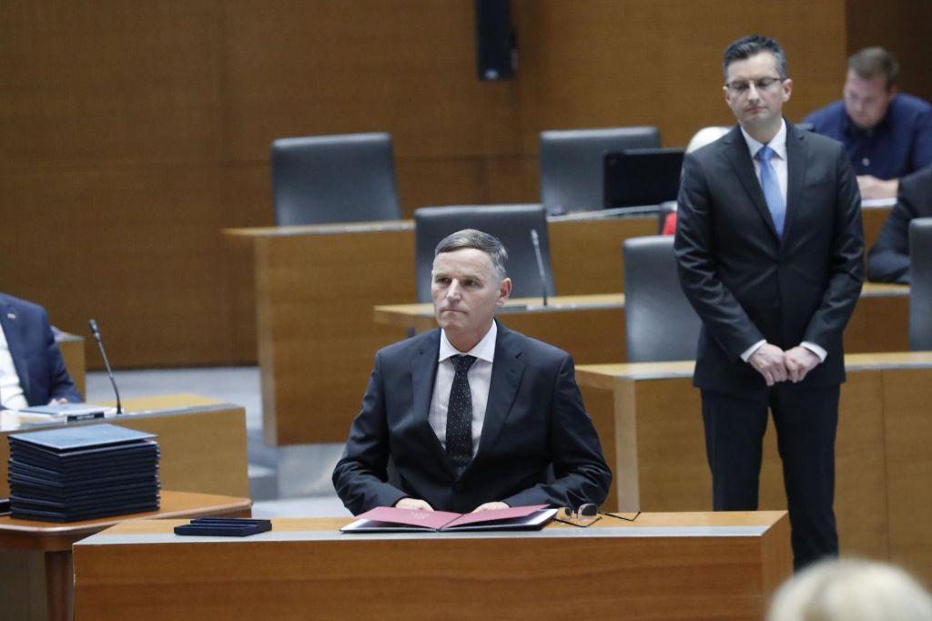 Bertoncelj poslance svari pred sprejetjem neusklajenih proračunov