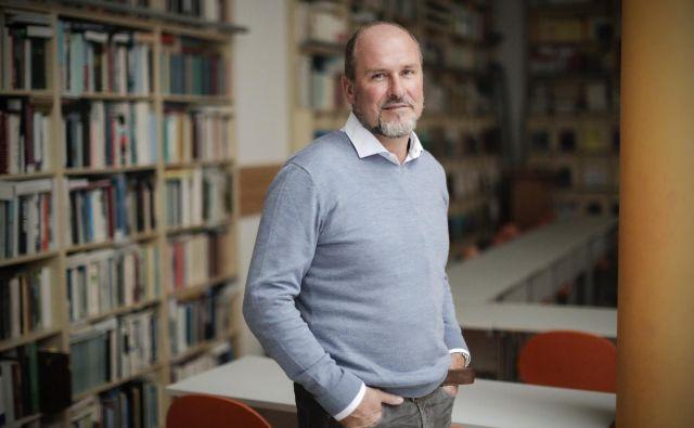 Rado Pišot, direktor Znanstveno- raziskovalnega središča Koper, je tudi navdušen smučar. Foto Uroš Hočevar