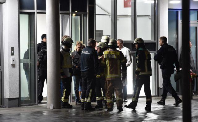 Motiv incidenta še ni znan. Berlinska policija je objavila, da uboj preiskuje »v vseh smereh«. FOTO: Paul Zinken/DPA/AFP