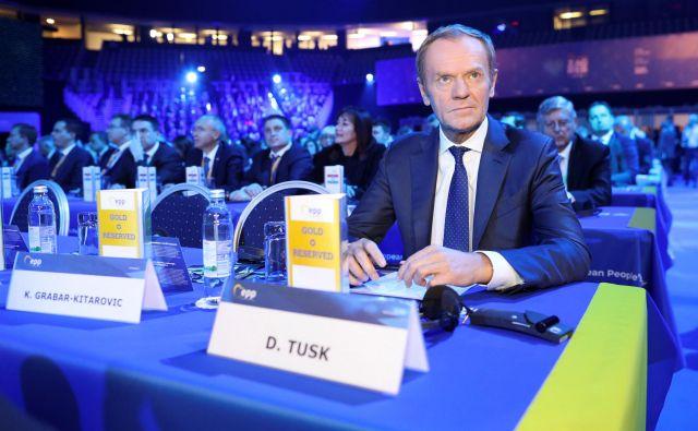 Evropski konservativci prenavljajo organigram in postavljajo na vrh Poljaka Donalda Tuska. Foto: Reuters