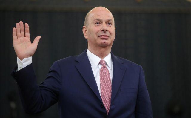 Ameriški veleposlanik pri Evropski uniji Gordon Sondland. Foto Reuters