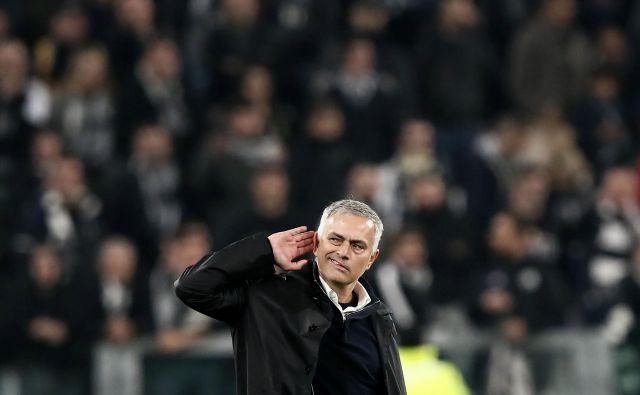 Jose Mourinho je nazadnje vodil Manchester United, zdaj se je ustavil na svoji tretji angleški postaji. FOTO: AFP