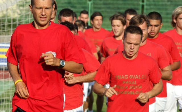 Slovenska nogometna reprezentanca nima igre, je bil kritičen Željko Milinović (levo), nekdanji reprezentant in pomočnik pri Srečku Katancu. FOTO: Igor Zaplatil