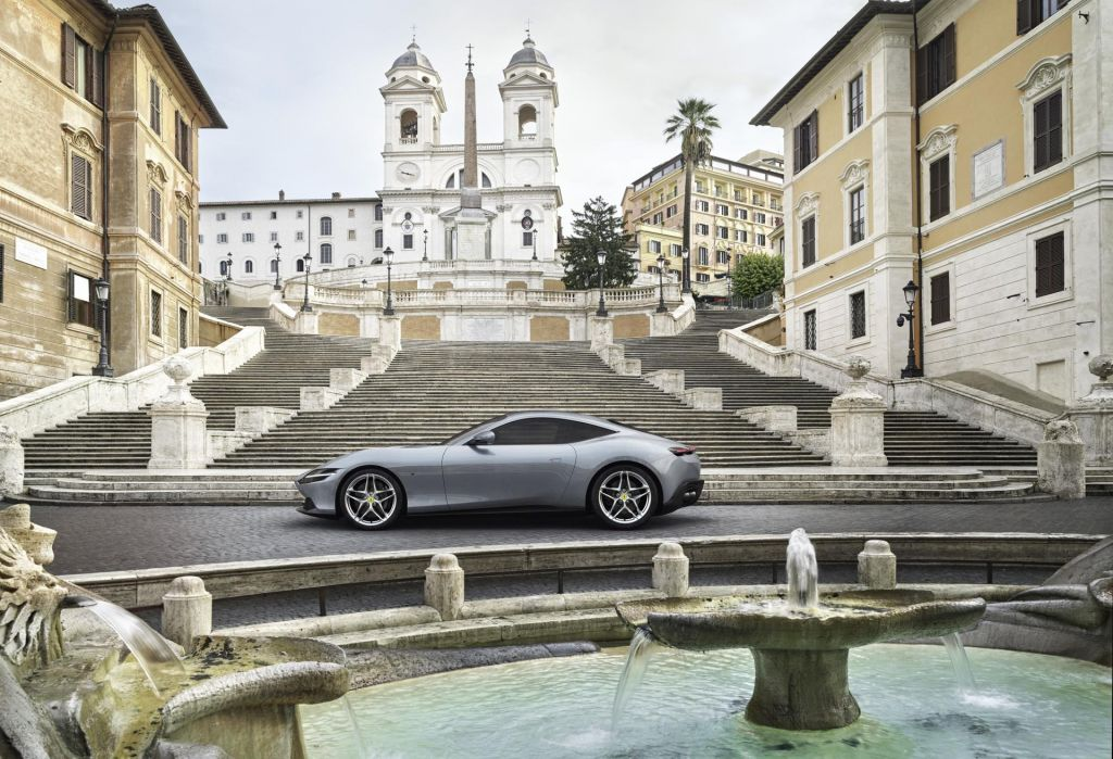 FOTO:Ferrari roma: Poklon prijaznim šestdesetim