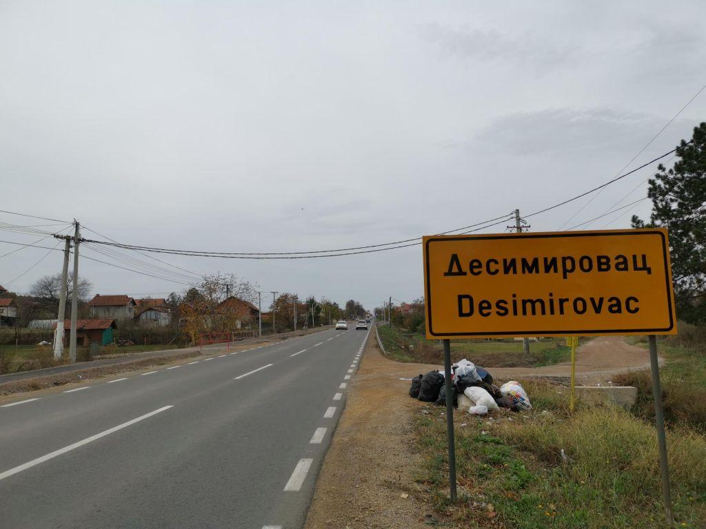 FOTO:»Ulico Draže Mihailovića bomo branili s svojimi telesi«