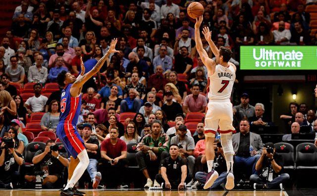 V Miamiju se je Goran Dragić z družino ustalil in obenem uživa v igranju košarke. FOTO: USA TODAY Sports