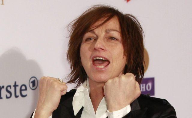 Gianna Nannini je starejša sestra nekdanjega voznika formule ena Alessandra Nanninija. FOTO: Thomas Peter/Reuters