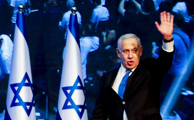 Potem ko ne Netanjahuju (na fotografiji) ne Gancu ni uspelo sestaviti vlade, je Izrael blizu tretjim parlamentarnim volitvam v enem letu. FOTO: Reuters
