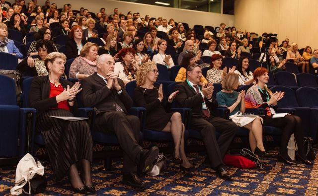 Letošnjega srečanja se je udeležilo 250 strokovnjakov, praktikov, nosilcev politike in drugih deležnikov v izobraževanju odraslih. Foto ACS
