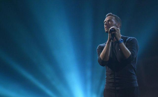 Skupina Coldplay bo novi album <em>Everyday Life</em> (Vsakdanje življenje) prestavila na dveh koncertih v Jordaniji. FOTO: Toby Melville/Reuters