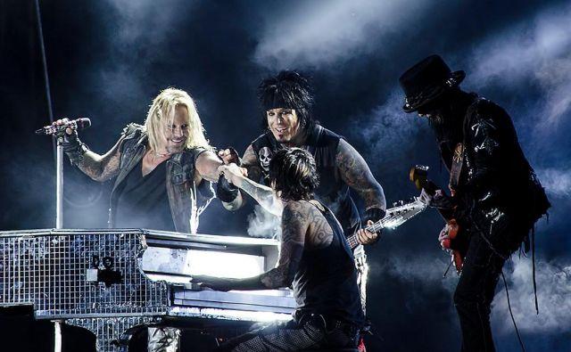 Mötley Crüe leta 2012 na Švedskem. Foto Wikipedija