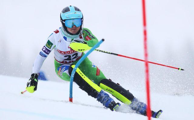 Meta Hrovat komaj čaka, da pokaže, kaj zna in zmore v slalomu.<br /> FOTO: Reuters
