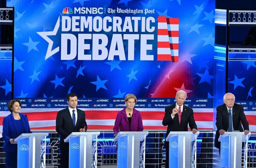 FOTO:Mladi demokrat Pete Buttigieg se prebija k predsedniškim favoritom
