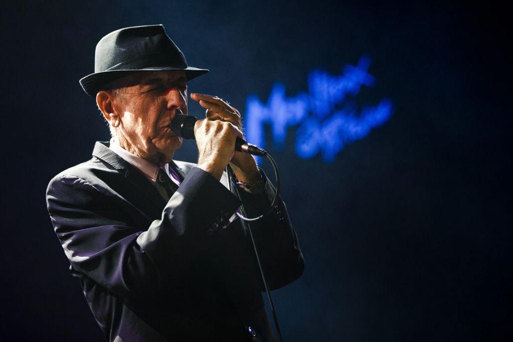 Nedokončane pesmi legendarnega Leonarda Cohena na novem albumu