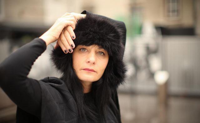 Labina Mitevska mednarodno uspešna, v Skopju rojena filmska igralka in producentka. Foto: Jure Eržen