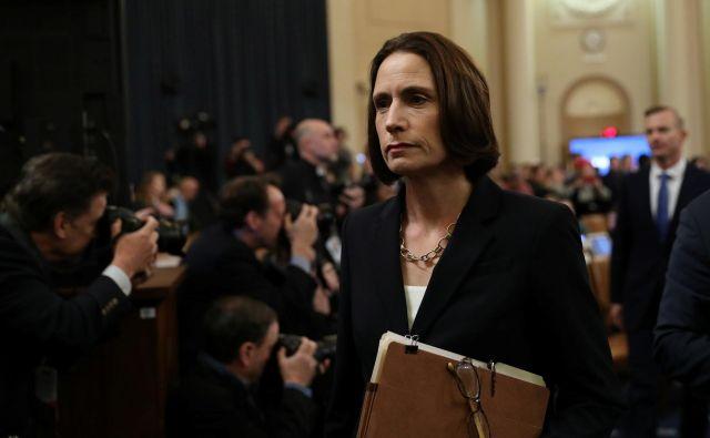 »Ruska vlada je upala na natanko to, kar se sedaj dogaja – velike strankarske delitve,« je dejala Fiona Hill, nekdanja svetovalka za nacionalno varrnost. FOTO: Loren Elliott/Reuters