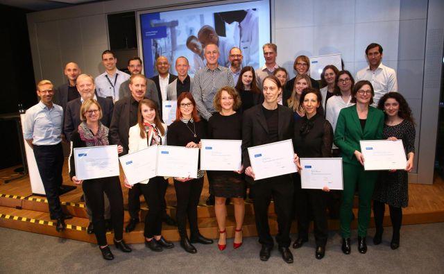 Lekovi znanstveniki, prejemniki Sandozovih nagrad na področju razvoja. FOTO: Arhiv Leka