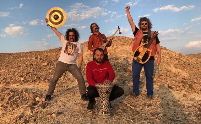 Baba Zula so psihedelična transcendenca turškega rocka. Foto Emir Sivaci