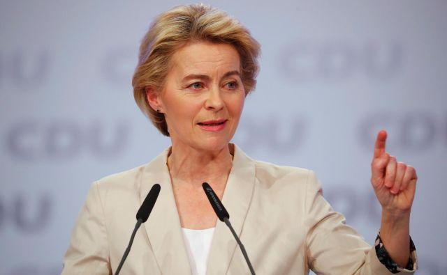 Ursula von der Leyen je s težavo sestavila komisarsko ekipo. Foto: Reuters