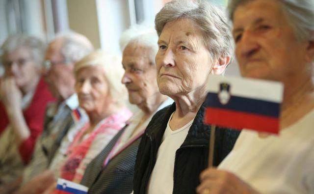 Prepričana sem, da zadevo dobro poznate, da veste, kako slabo se v resnici godi starejšim državljanom v naši državi. Foto Jure Eržen