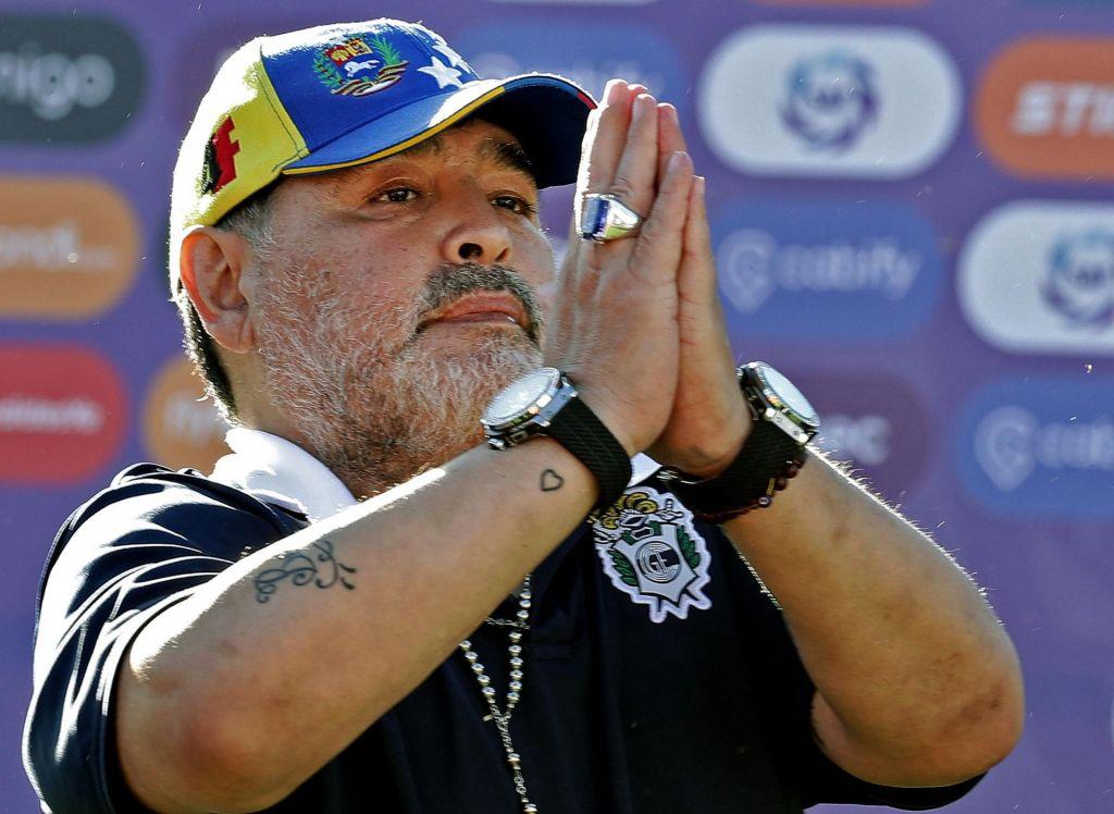 Maradona spet nazaj pri Gimnasii
