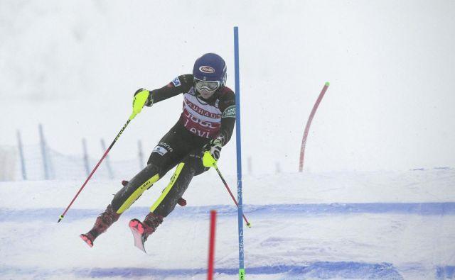 Mikaela Shiffrin je slavila 41 slalomsko zmago v svetovnem pokalu. FOTO: Reuters