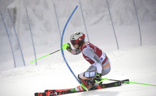Henrik Kristoffersen je na uvodnem veleslalomu sezone pred enim mesecem razočaral z 18. mestom, danes pa je na slalomu v Leviju pokazal svojo veličino z 18. zmago v karieri. FOTO: AFP