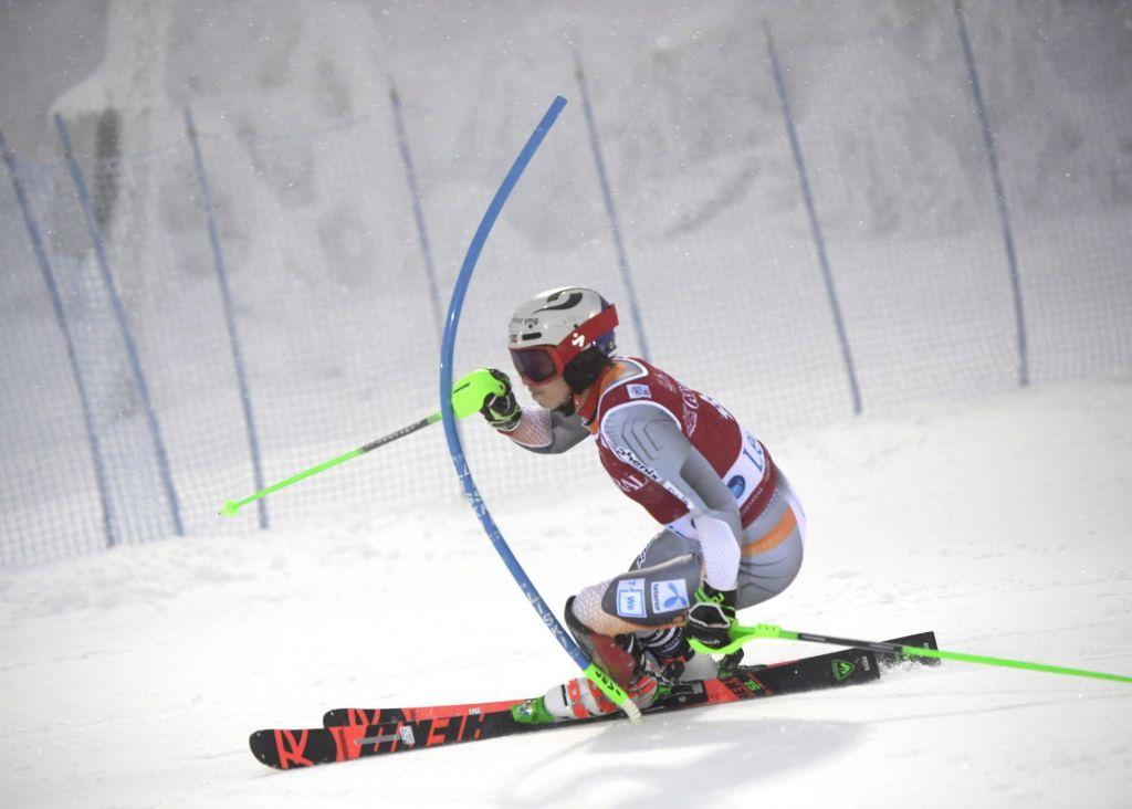 Kristoffersenu uvodni slalom, oba Slovenca do točk