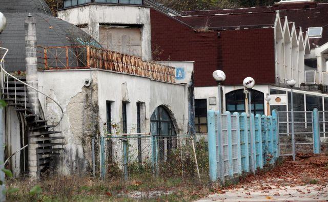 Propadajoče Medijske toplice: danes dan D za Alos. Foto Mavric Pivk/Delo