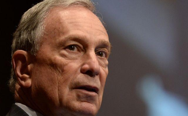 Micheal Bloomberg leta 2001:»Bil sem poslovnež, zdaj sem v politiki, morda bi si kasneje želel kaj v akademskih vodah, kaj jaz vem. Nisem človek, ki bi se upokojil in igral golf.« FOTO: Timothy A. Clary/AFP