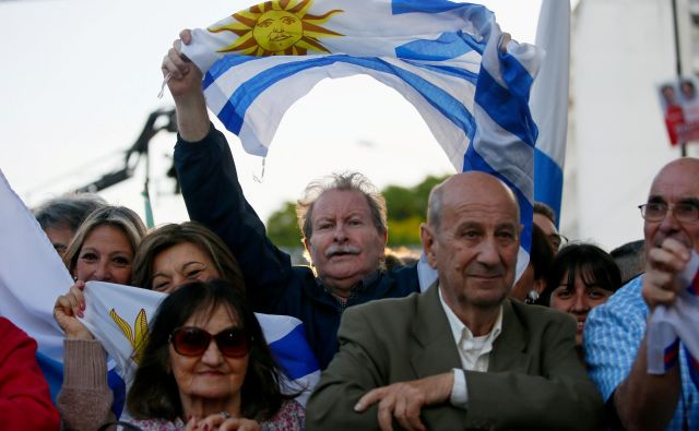 V Urugvaju imajo tesno predsedniško bitko. FOTO: Reuters