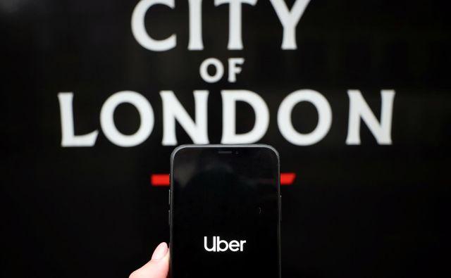 V Londonu je približno 45.000 voznikov Uberja. FOTO: Hannah Mckay/Reuters