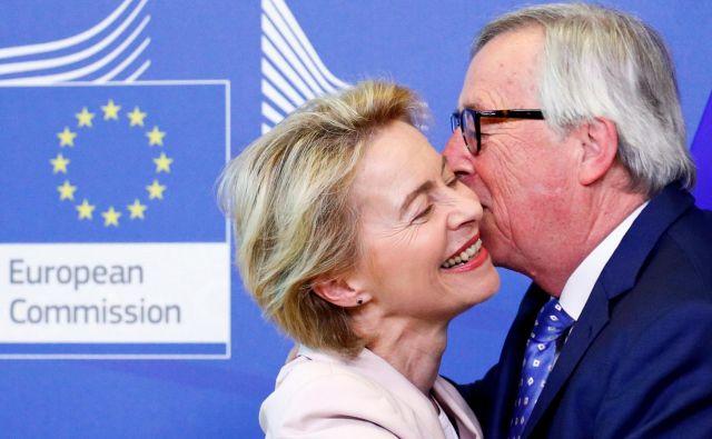 Ali bo Ursula von der Leyen prisluhnila številnim ekonomistom, ki pozivajo komisijo, naj končno ustavi škodljive učinke neoliberalizma. FOTO: Francois Lenoir Reuters
