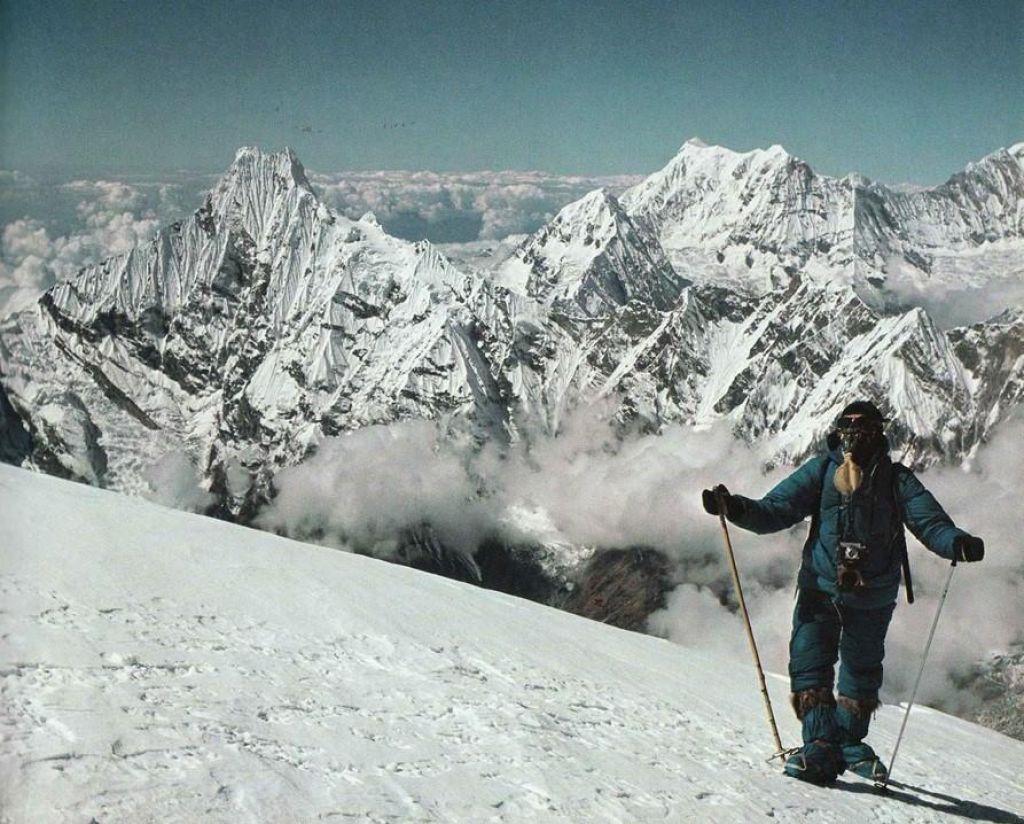 FOTO:Prispevek Slovencev v zakladnico raziskovanj najvišjega gorstva sveta