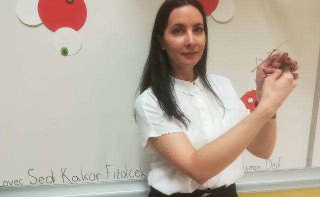 Nina Strlič pravi, da je dober učitelj strokovnjak na svojem področju, a tudi pedagog in vzgojitelj. FOTO:Mojca Boštele