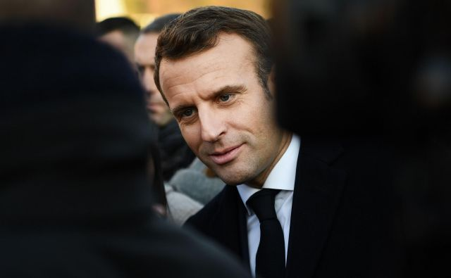 Opozarjati na mesto francoščine v svetu politično ni nič novega v Franciji, a pod predsednikom Emmanuelom Macronom je poudarek izrazitejši. Foto AFP