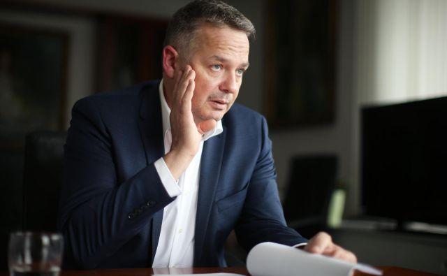 Peter Jenko, novi generalni direktor Fursa, bi za večje zaupanje javnosti razkril največje davčne prekrškarje.<br /> FOTO: Jure Eržen
