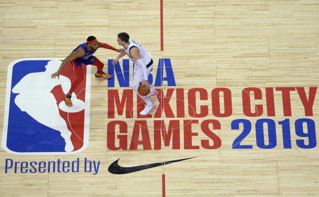 MVP, MVP, je odmevalo tudi v glavnem mestu Mehike, kjer se je ustavil NBA-cirkus z glavnim zvezdnikom Luko Dončićem. FOTO: USA Today Sports