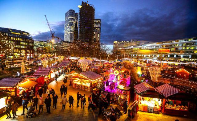 Božična tržnica v Berlinu. Foto Reuters
