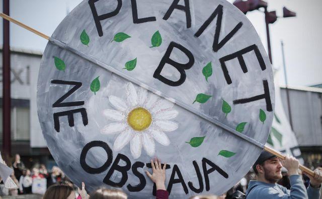 Drugega planeta nimamo, ta pa se nas lahko zaradi naših dejanj tudi znebi. FOTO: Uroš Hočevar/Delo