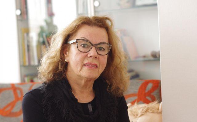 Anita Ogulin, od malega luč pomoči potrebnim<br /> FOTO: Grega Kališnik