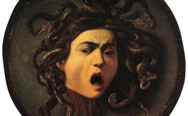 Obglavljena meduza na znameniti Caravaggiovi sliki.