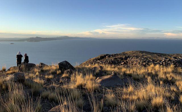 Misticizem je tesno prepleten z otokom Amantaní, prav tako legende in miti, povezani z jezerom Titicaca.Foto: Gašper Završnik