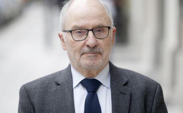 Rafael Ribó, varuh človekovih pravic in profesor prava. FOTO: Roman Šipić/Delo