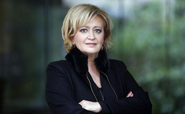 Ksenija Benedetti, strokovnjakinja za protokol in odnose.<br /> Foto: Roman Šipić