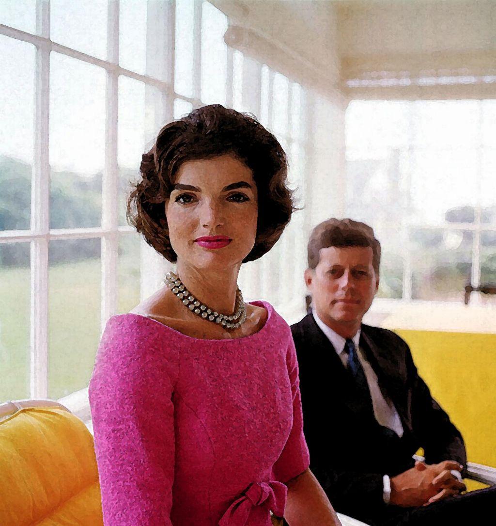 FOTO:JackieKennedy Onassis: Vzornica z napako