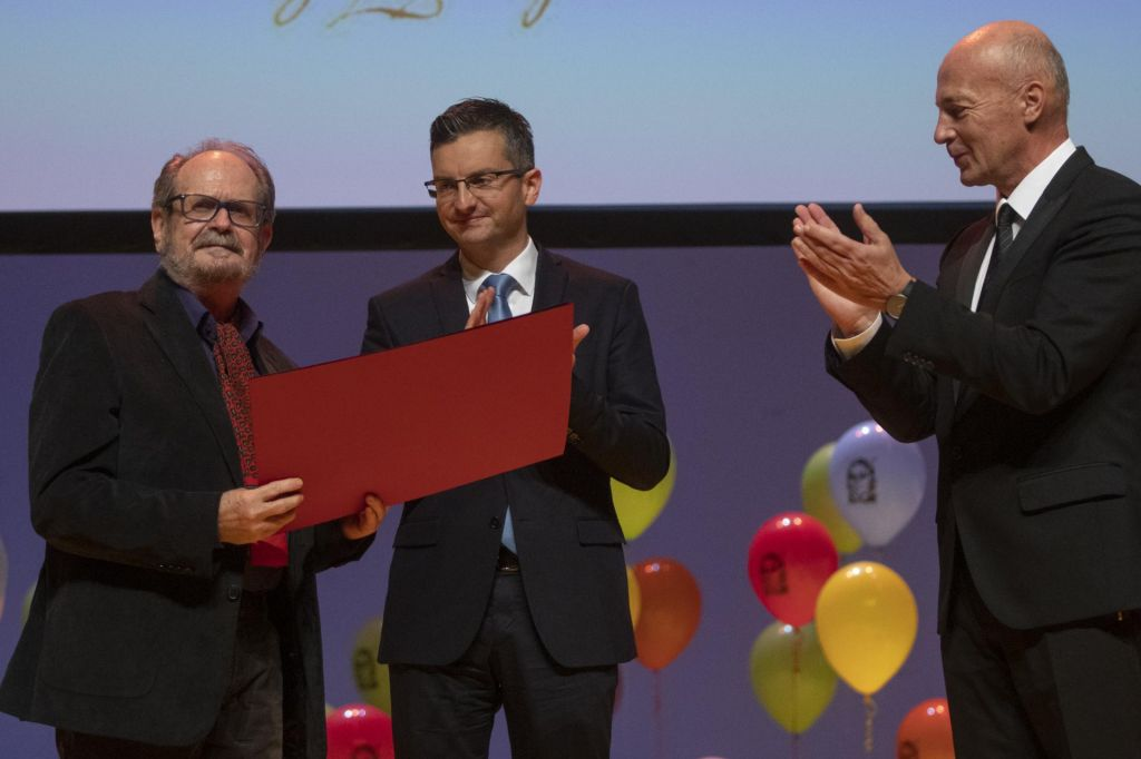 Schwentnerjeva nagrada Marku Kravosu