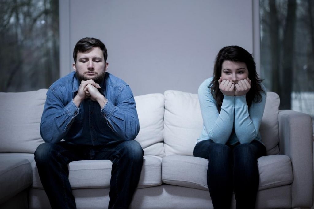 Zaradi govoric o prevari z možem ne govoriva